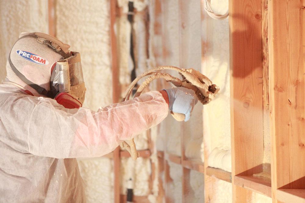 spray foam insulation homer georgia
